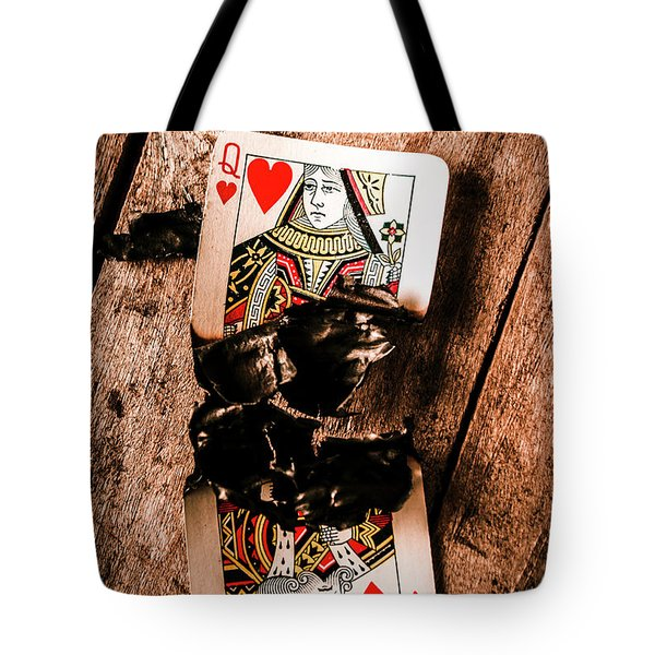 Red Hot Blackjack Tote Bag