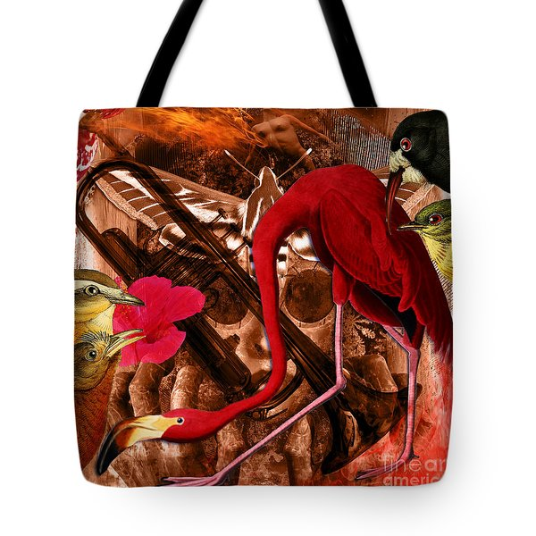 Red Hot Soul Music Tote Bag