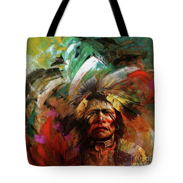 Red Indians 02 Tote Bag