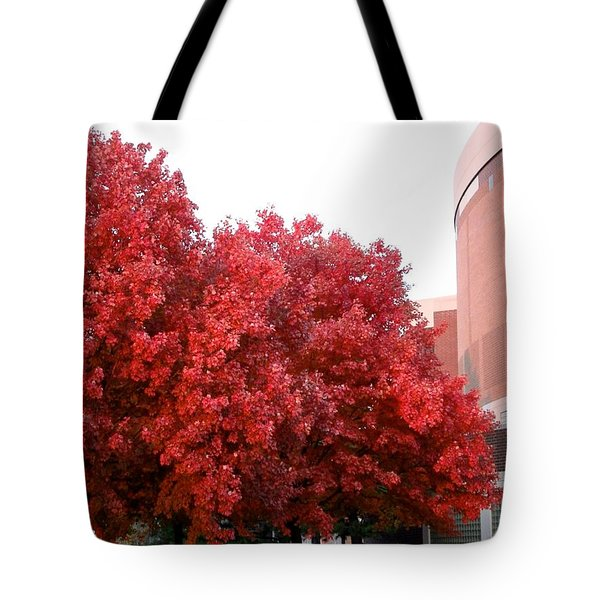 Red Tote Bag by Joseph Yarbrough
