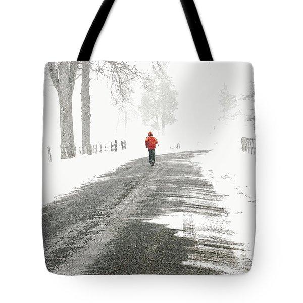 Red -  Tote Bag