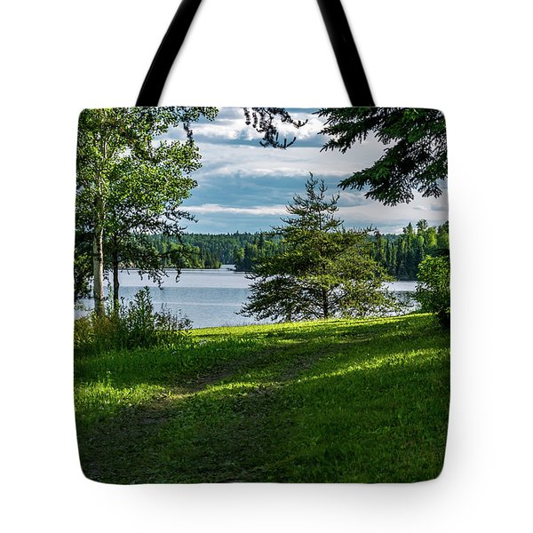Tote Bag featuring the photograph Red Lake Ontario 2 by Keith Smith