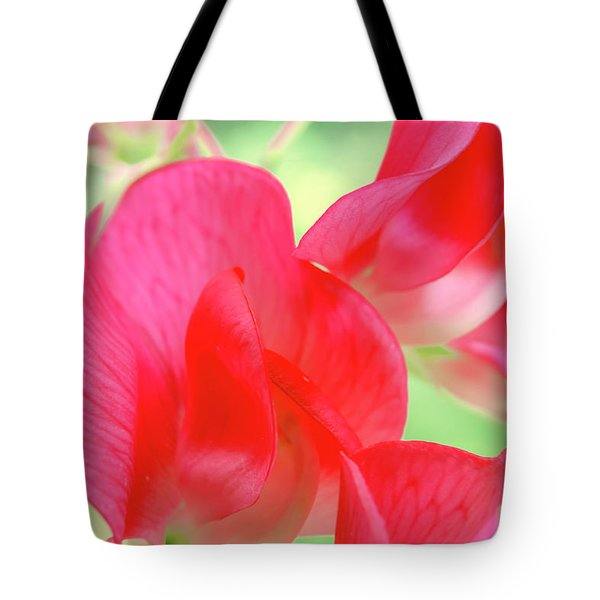 Tote Bag featuring the photograph Red by Leland D Howard