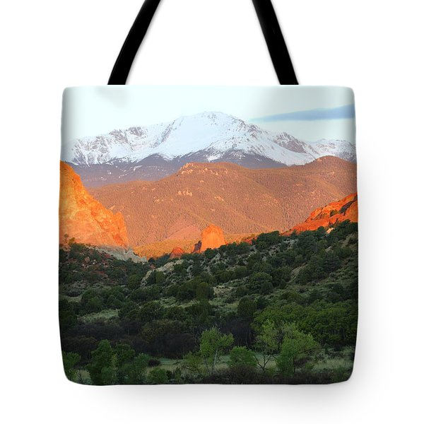 The Red Light District Tote Bag