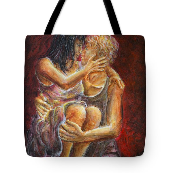 Red Lovers 01 Tote Bag