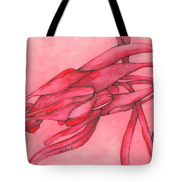 Red Lust Tote Bag