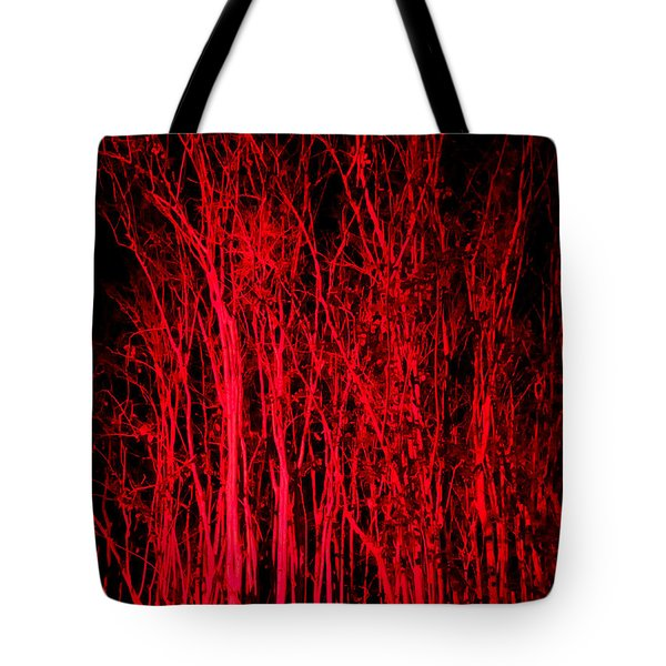 Red Magic Tote Bag by Doug Kreuger
