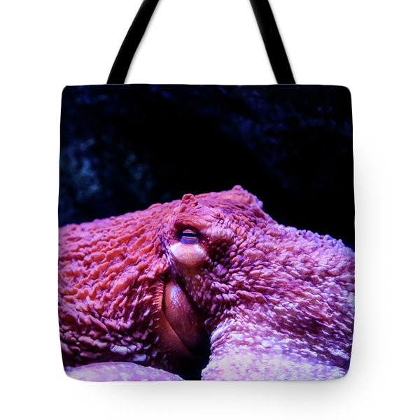 Tote Bag featuring the photograph Red Menace by T A Davies