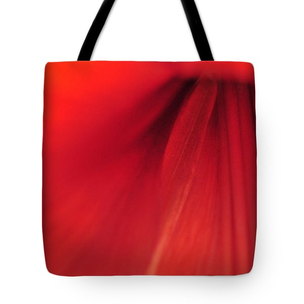 Red Tote Bag by Mike Martin