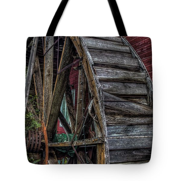 Red Mill Wheel 2007 Tote Bag