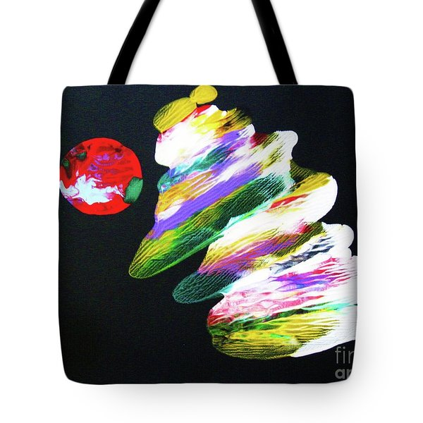 Red Moon Geisha Tote Bag by Roberto Prusso