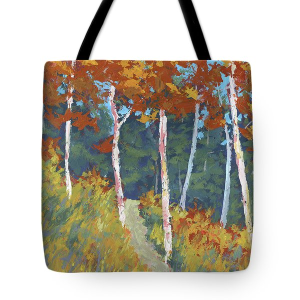 Red Mountain Aspens Tote Bag