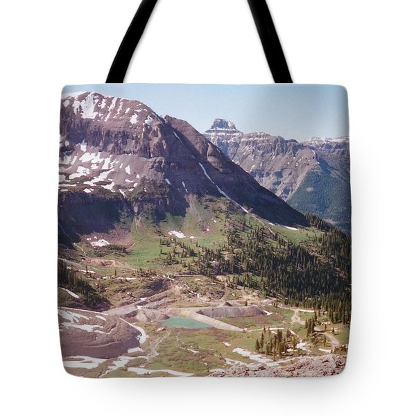 Red Mountain Tote Bag by Dale Jackson
