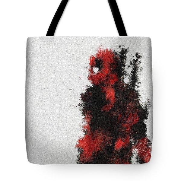 Red Ninja Tote Bag