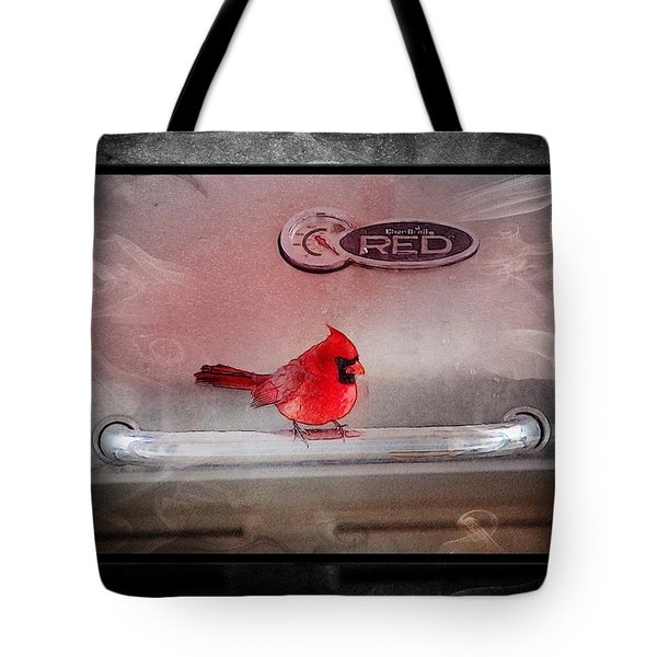 Red On Red Tote Bag by Ericamaxine Price