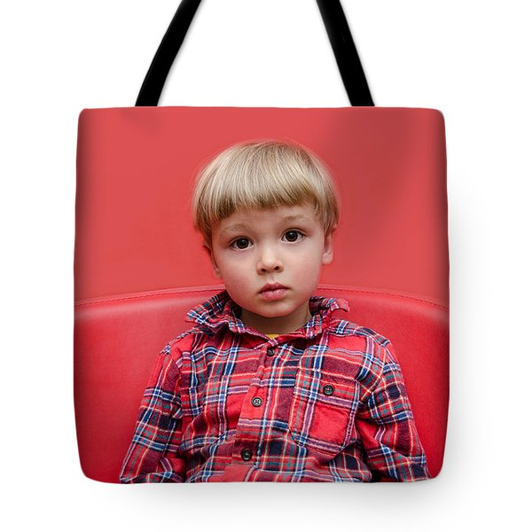 Red On Red Tote Bag