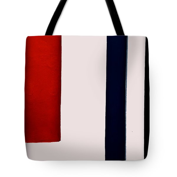Red On The Left Tote Bag