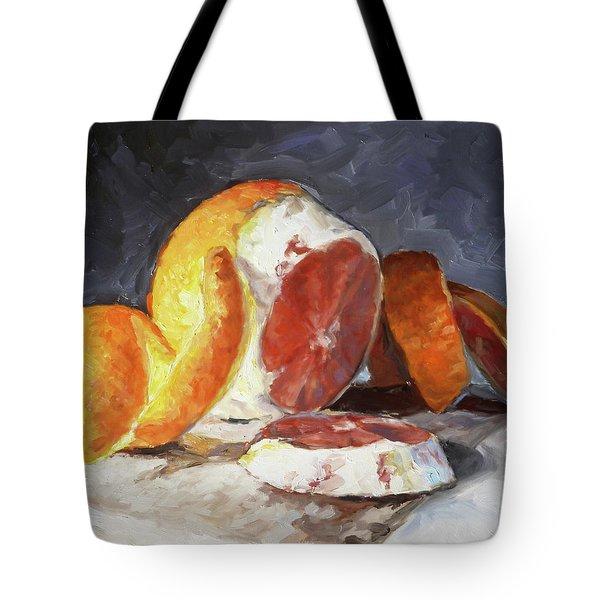 Red Orange Tote Bag