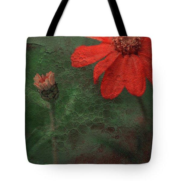 Red Passion... Tote Bag by Juliana Nan