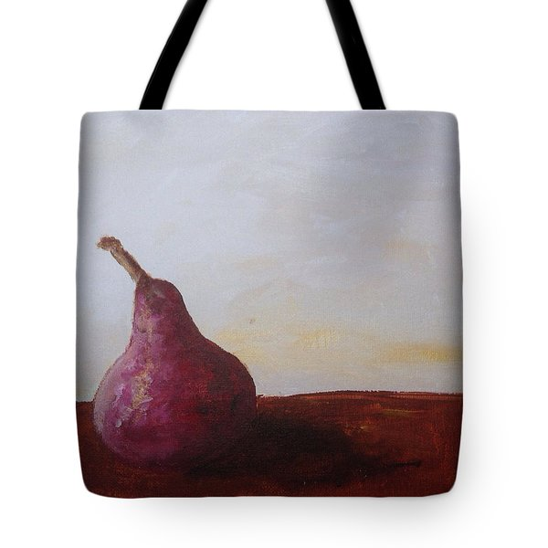 Red Pear Tote Bag by Roxy Rich
