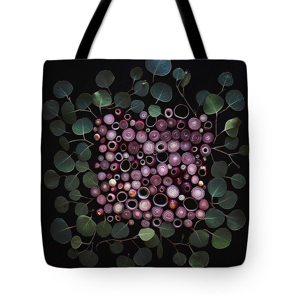 Red Pearl Onions Tote Bag