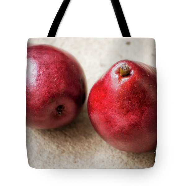 Red Pears Tote Bag