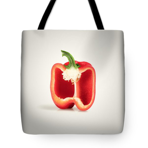 Red Pepper Cross-section Tote Bag