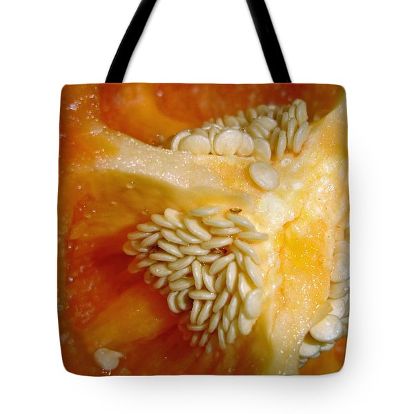 Tote Bag featuring the photograph Red Pepper by Lynda Lehmann