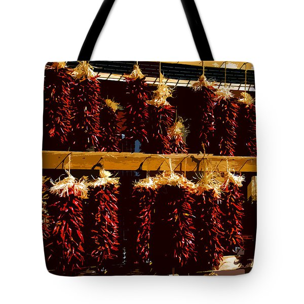 Red Peppers Tote Bag by David Lee Thompson
