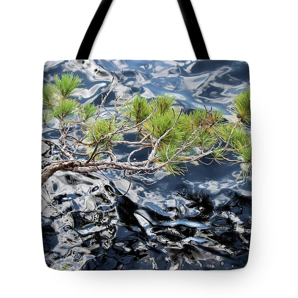 Red Pine Tote Bag