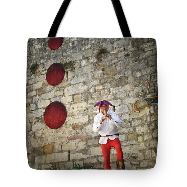 Red Piper Tote Bag
