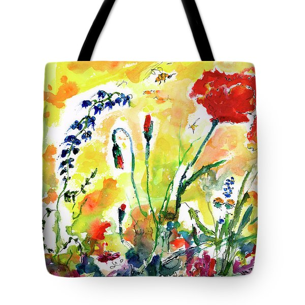 Red Poppies Provence 2017 Tote Bag