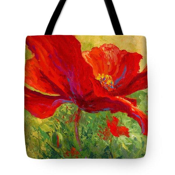 Red Poppy I Tote Bag