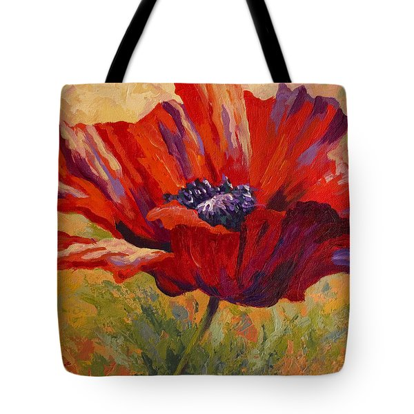 Red Poppy II Tote Bag