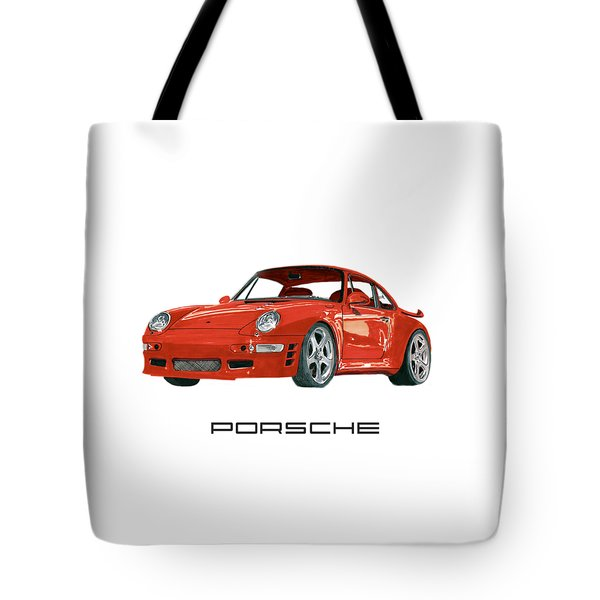 1997  Porsche 993 Twin Turbo R Tote Bag