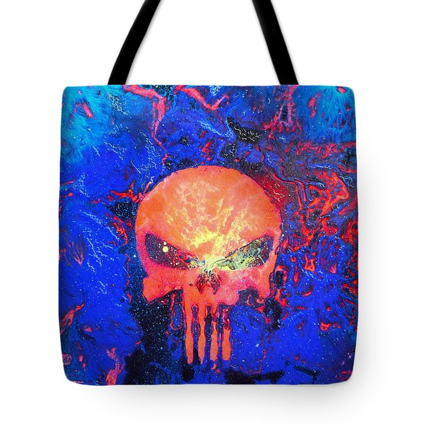 Red Punish Tote Bag