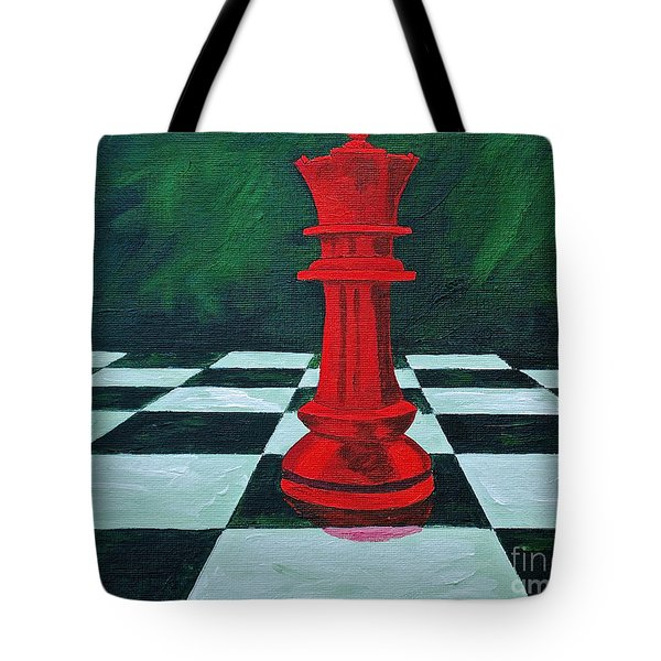 Red Queen  Tote Bag by Herschel Fall