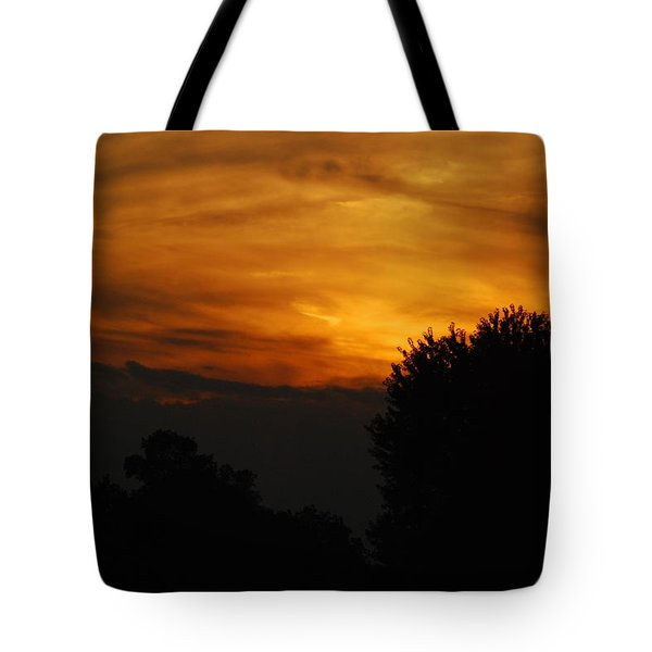 Red Red Sunset Tote Bag