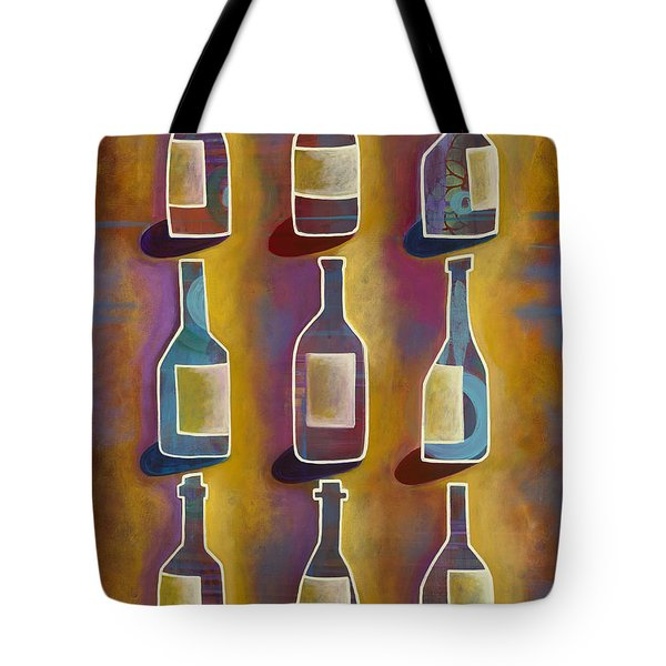 Red Red Wine Tote Bag by Carla Bank