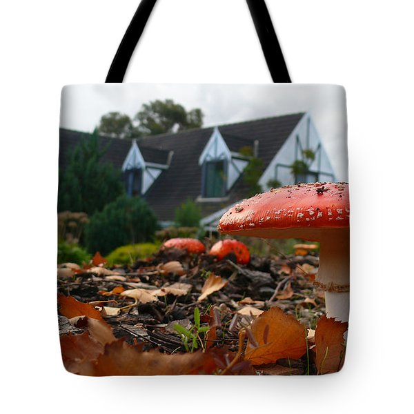 Red Riding Hood Tote Bag by Evelyn Tambour