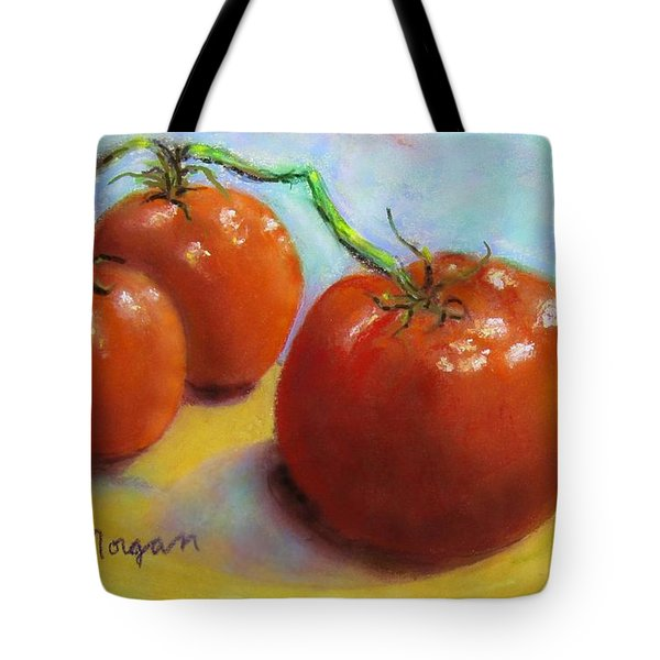 Red Ripe And Ready Tote Bag