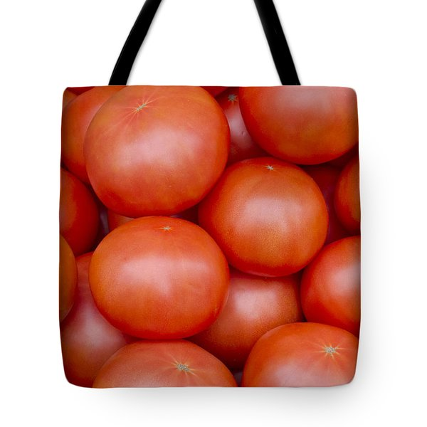 Red Ripe Tomatoes Tote Bag by John Trax