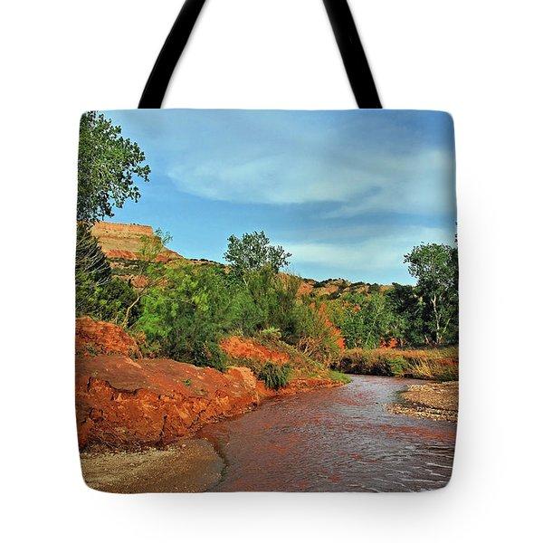 Red River Tote Bag