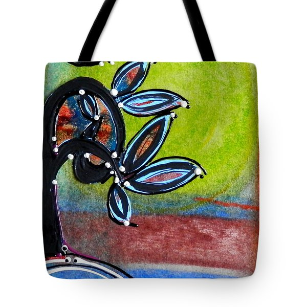 Red River Blossoms Tote Bag