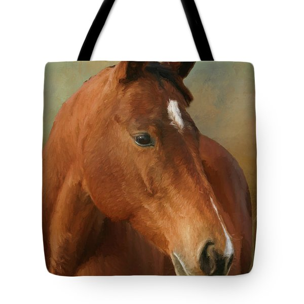 Red River - Painted Tote Bag