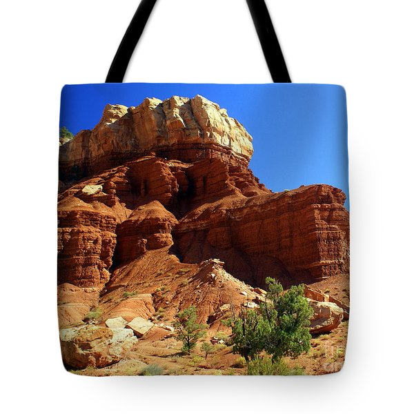 Red Rock 4 Tote Bag by Marty Koch