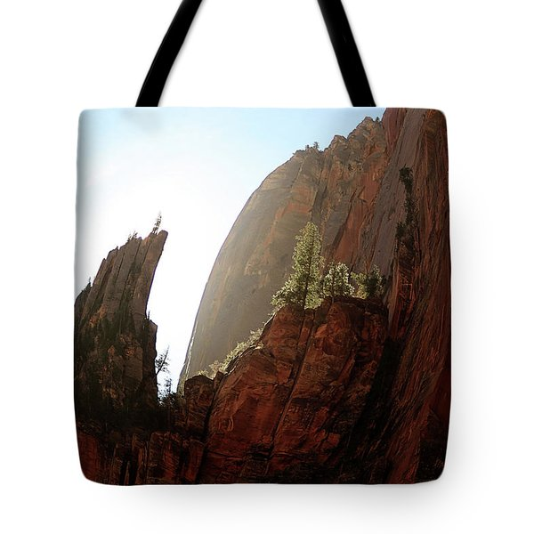Red Rock At Zion Tote Bag