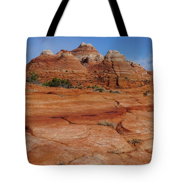 Red Rock Buttes Tote Bag