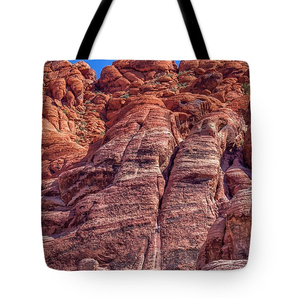 Tote Bag featuring the photograph Red Rock Canyon National Conservation Area by Michael Rogers