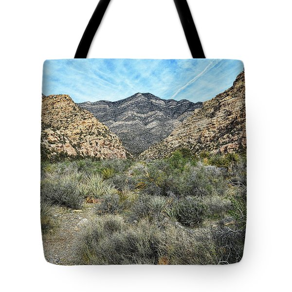 Tote Bag featuring the photograph Red Rock Canyon - Nevada by Glenn McCarthy Art and Photography